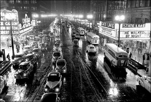 大导演库布里克的摄影作品 芝加哥1949